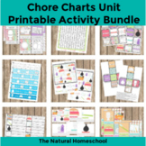 12 Printable Chore Charts Pictures and Practical Activities