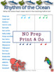 Music Activities: 12 Music Rhythm Worksheets SET 4