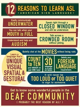 12 Reasons to Learn ASL