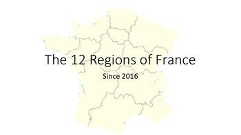 12 Regions of France
