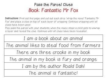 Roald Dahl Novel Clues EDITABLE Bundle
