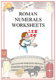Roman Numerals Worksheets - 12 in total ! With Answer Keys - 1-1000+