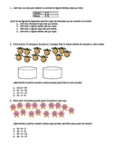 12 STAAR-formatted Spanish Math Word Problems Third Grade