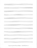 12 STAVE BLANK SHEET MUSIC - MUSIC COMPOSITION PAPER