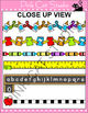 School Theme Page Borders and Frames Clip Art - crayons, bus, books, pencils