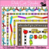 School Clip Art - Page Borders & Frames