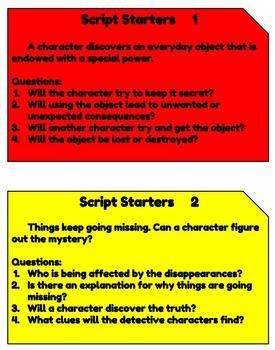 12 Script Starters