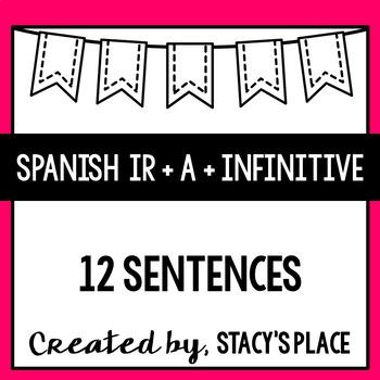 12 Sentences: Spanish Ir + a + Infinitive