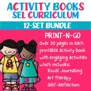 12-Set Therapeutic Activity Book Bundle (Print-N-Go)