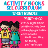 Social Emotional Learning Activity Book Bundle (Print-N-Go)