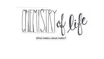 12 Slides on the building blocks of organic matter