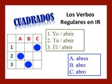 Spanish IR Verb Activities; Do Now, Fast Finisher, Homework