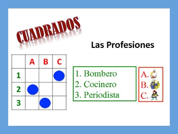 Spanish Jobs and Professions Activities; Do Now, Fast Finisher, Homework
