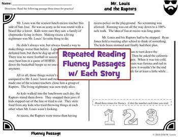 12 Spring Fun Reading Comprehension Passages and Questions + Fluency Passages