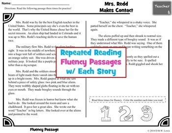 12 Fun Reading Comprehension Passages and Questions + Fluency Passages