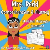 12 Fall Reading Comprehension Passages and Questions + Fluency Passages