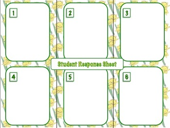 """12 Spring Task Cards: """"Fun Facts"""" + """"Fun Tasks"""" for Students of All Grades!"""