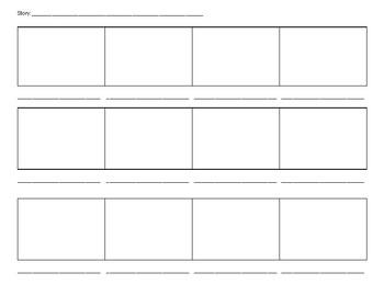 12 Stage Storyboard printable