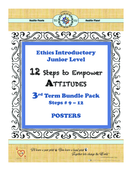 12 Steps to Empower ATTITUDES - Ethics: 3rd Term - Steps 9 - 12 (Junior)