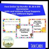12 Task Next Dollar Task Card BUNDLE- SpEd Life Skills Practice