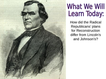 12 - The Reconstruction Era - PowerPoint Notes