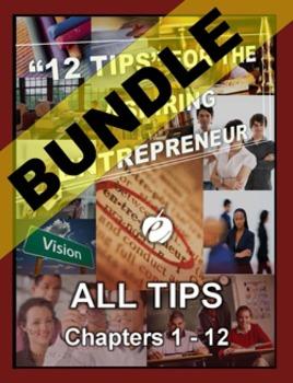 """ENTREPRENEURSHIP - """"12 Tips"""" for the Aspiring Entrepreneur BUNDLE"""