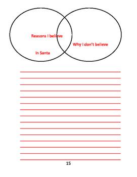 12 Twelve Cookies of Christmas workBook PDF Christmas Break