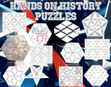 Hands on History- History Review Puzzles Bundle Plus 6 Puzzle Templates