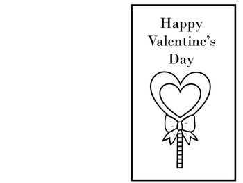 12 - Valentine's Day Cards (English)