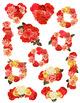 12 Vintage Rose Arrangements Clip Art   Antique Wreath, Garland   PNG, AI, EPS