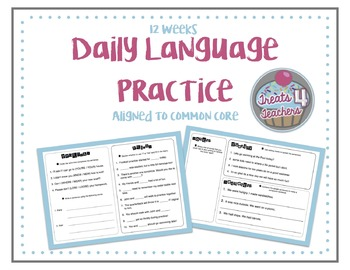 12 Weeks of Daily Language Practice