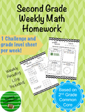 40+ Weeks of Second Grade Homework