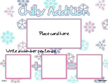 12 Winter Math Stations {Common Core Aligned!}