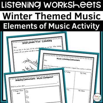 12 Winter Themed Listening Activities