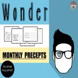 WONDER Monthly precepts