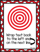 12 Writing Target Goals for Kindergarten and 1st Grade - RED BORDER