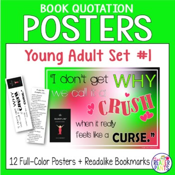 Book Quote Posters YA