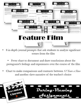 12 Years a Slave Film Unit: Common Core-Aligned Assignments & Activities