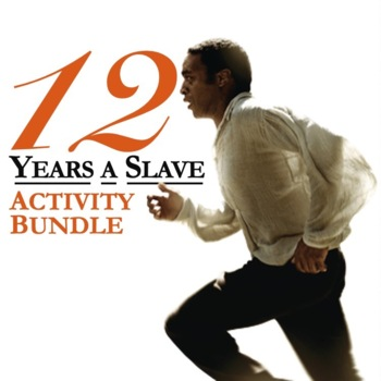 12 Years A Slave Civil War Slave Narrative Reading Writing Activity guide