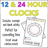 12 and 24 Hour Clock