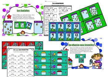 12 ateliers math nbr 1 à 100 Les explorateurs de l'étang