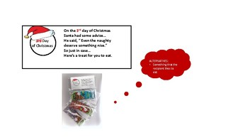12 days of Christmas Ideas for colleagues