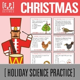 12 days of Christmas Science Holiday Task Cards