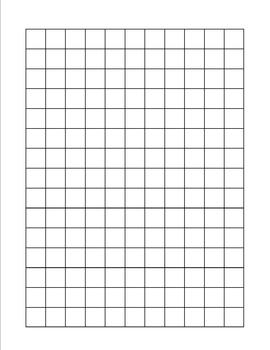 1 2 inch square graph paper by for equal access tpt