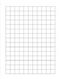 1/2 inch square graph paper