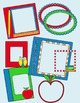 School Borders Clip Art ~ School Supplies