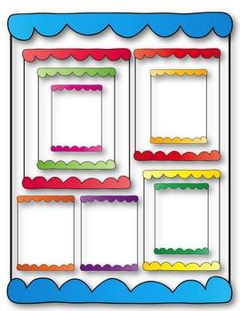 Border Bumps Clip Art ~ 28 Frames ~ CU OK