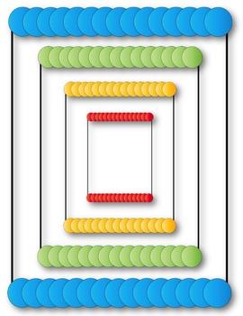 Borders - Just Circles Clip Art ~ 17 Frames ~ CU OK