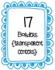 Bright Borders & Frames Clipart ~ Commercial Use OK