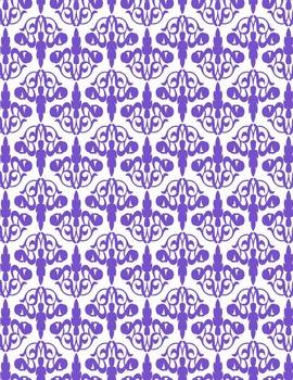 Deco Papers #2 Clip Art ~ CU OK ~ 8.5 x 11
